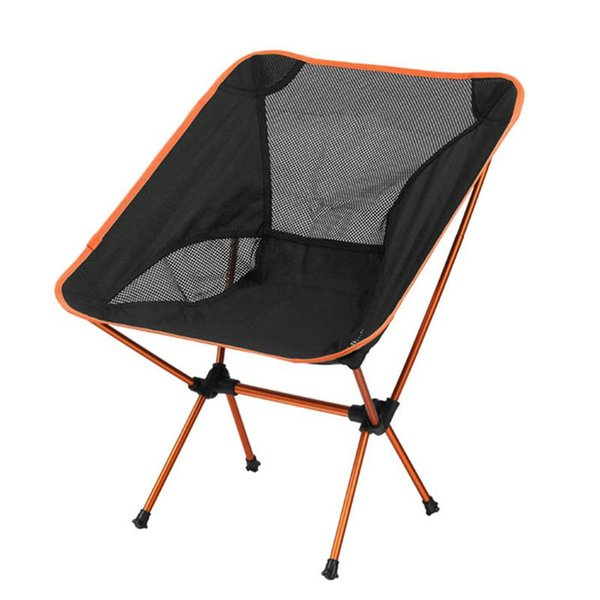 Wholesale- Singda Brand Ultralight Outdoor Folding Fishing Chair Portable Backrest BBQ Picnic Camping Chair Aluminum Alloy Stool 4 Colors