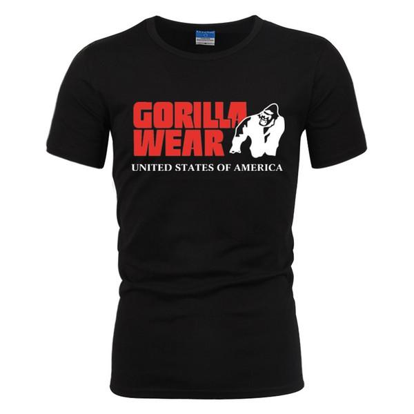 Mens designer de t-shirt t-shirt de roupas brancas de gorila dos homens desgaste impresso t-shirt dos homens t-shirt roupas novas roupas masculinas