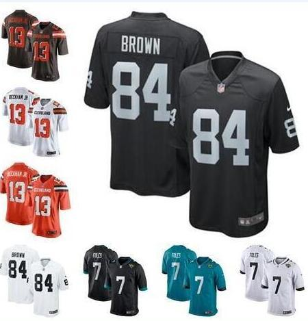 cheap for discount 8f96e 33cd0 2019 2019 Nick Foles Jersey Odell Beckham Jr Antonio Brown Cleveland  Oakland Browns Raiders Tyrann Mathieu American Football Jersey Cheap New  From ...