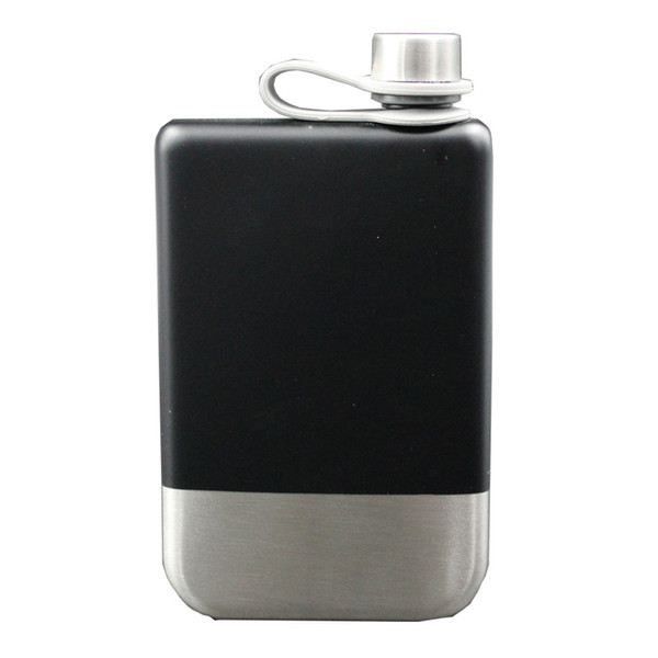9 Oz Stainless Steel 304 Hip Flask Whiskey Wine Bottle Alcohol Pocket Flagon For Gifts