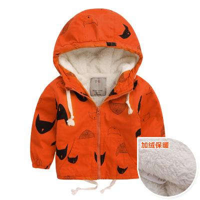 winter fashion boy windbreaker jackets warmer top child baby tide children clothing outwear coat infant toddler clothing kids clothes 1-7 ys