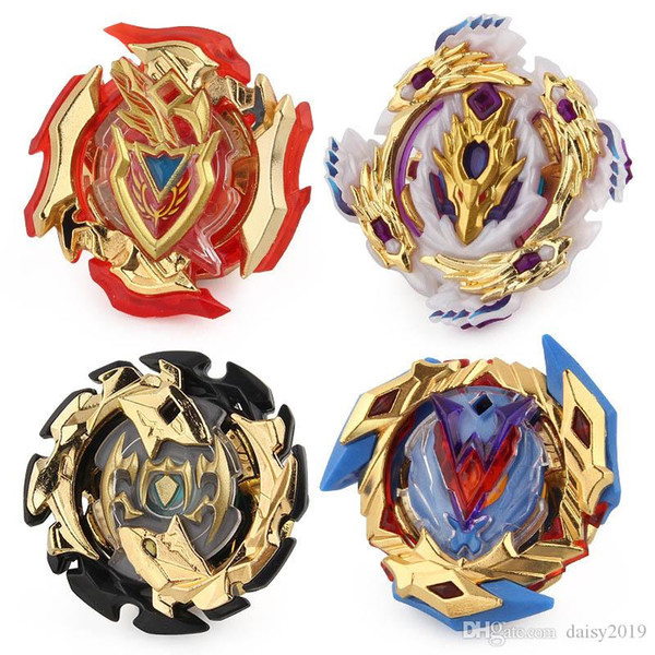 4D Gold Beyblade Burst Metal Fusion Gyro spinning top B110 B104 B105 B106 without Launcher and box Children's Christmas Gifts Toys