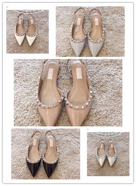Yeni kadın mavding çivili rhinestone ayakkabı klasik tarzı Xiao xiangfeng tek ayakkabı High-end baskılı yüksek topuklu ayakkabılar Narin moda