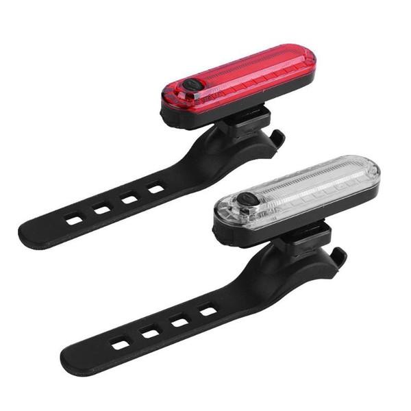 USB Ricaricabile Bicicletta Posteriore Ciclismo LED Fanale Posteriore Impermeabile MTB Bici Posteriore Luce Posteriore Lampada per Bicicletta