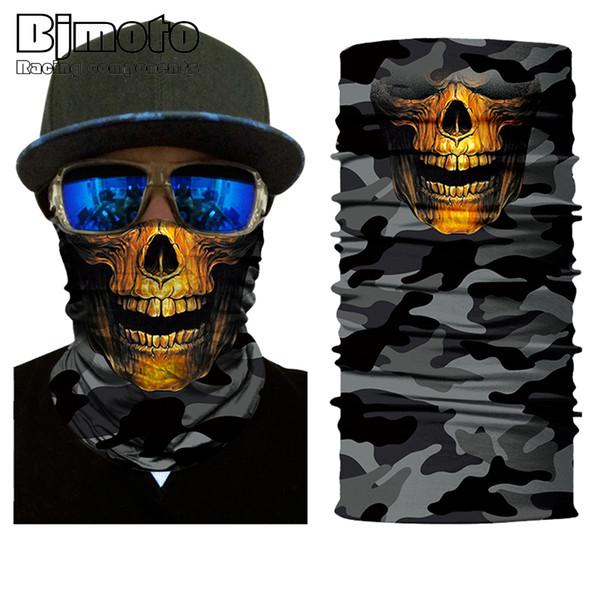10pcs Multifunctional Motorcycle Face Shield Bandana Skull Scarf UPF High Quality Tube Skull Face Mask Shield Seamless Bandanas