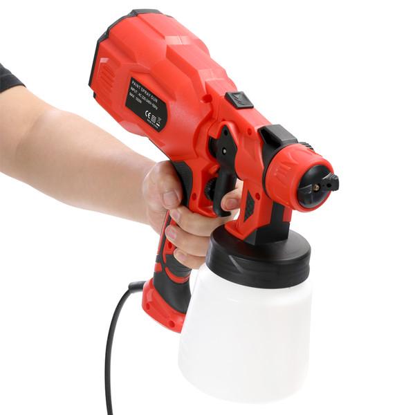 Elektrische Farbspritzmaschine Sprayer mit Spray Breiteneinstellung Haushaltsindustrie Multifunktionale Split Typ Sprayer
