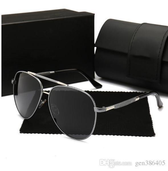 Fabricantes Ventas directas de gafas de sol polarizadas para hombre S Gafas de sol Hd Todavía nuevas gafas de sol de diseñador para mujer clásicas