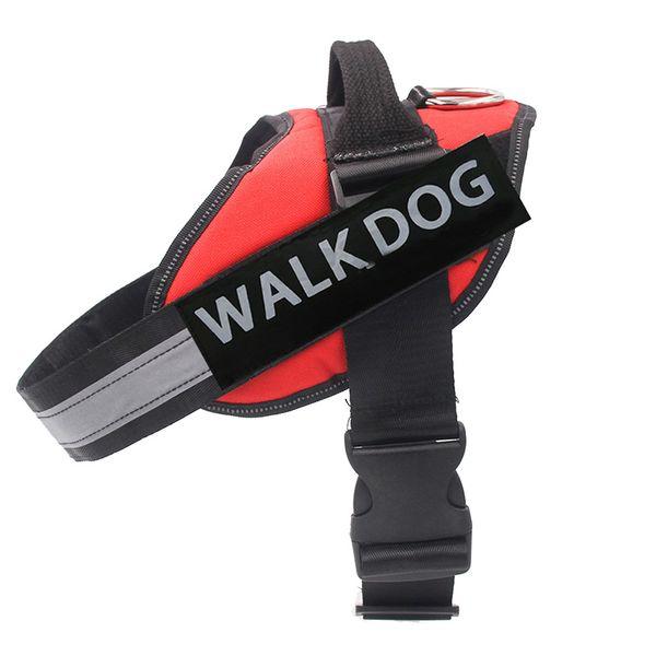 Pet Dog Vest Harness adjustable for Small Medium Big Dog Nylon Large Harness Pet Supplies Vest Collar Accessories