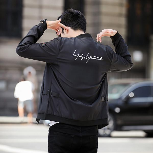 2019 casaque loisirs étudiant à temps l'auto-culture des hommes d'automne Joker tendance 8831 cuir casual haute qualité nouvelle mode Veste homme