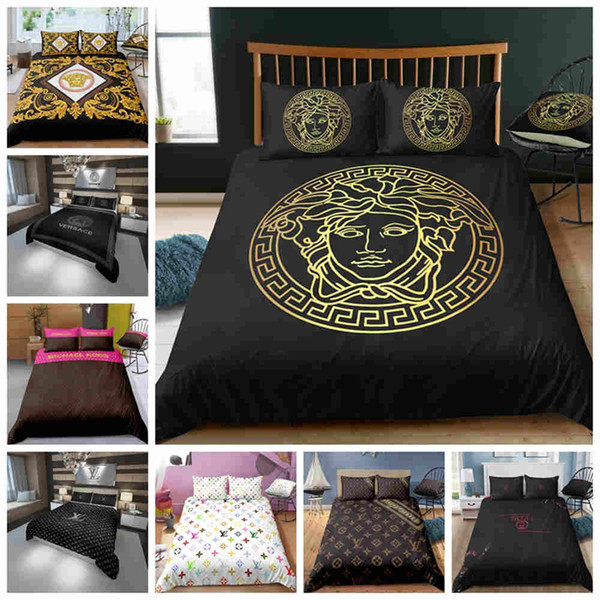 Fashionable 3D Bedding Set King Size Twin Full Queen Single Double Duvet Cover Set Nice Home Decoration Comforter Cover with Pillowcase 3PCS