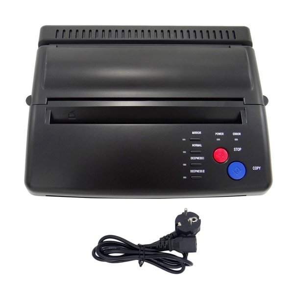 Styling Professional Tattoo Stencil Maker Transfer Machine Flash Thermal Copier Printer Supplies EU Plug
