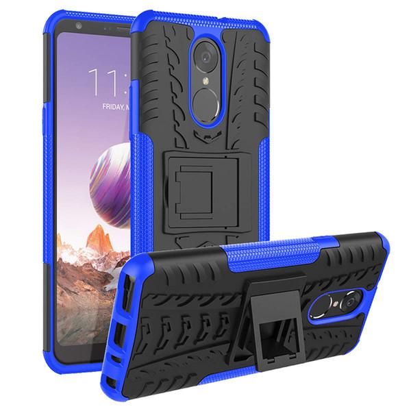 Для LG Stylo 5 Чехол BUDDIBOX [Wave] Тонкий прочный прочный защитный чехол с подставкой для Samsung S10plus