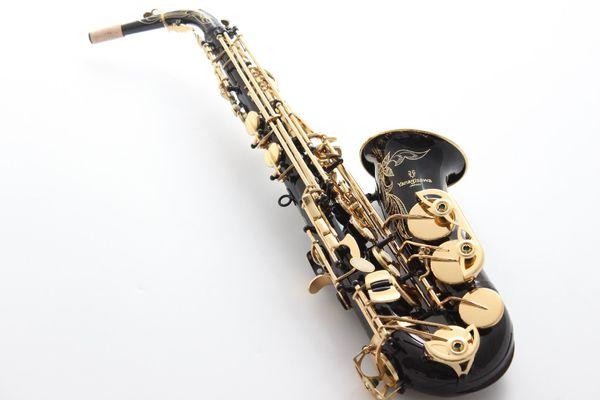 Best Quality Yanagisawa Alto Saxophone A-991 Black Lacquer Sax Alto Mouthpiece Ligature Reed Neck Musical Instrument Accessories