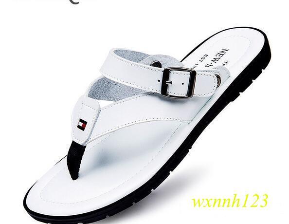 Flip Flops Men Sandals Summer slippers Shoes For Casual Walking Seaside Beach Breathable Slides Men\'s Brand Designer Flats 2017 G165