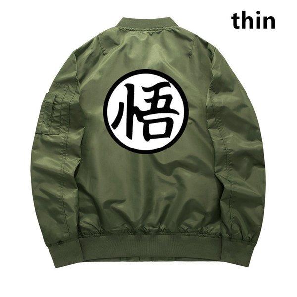 verde militar delgada