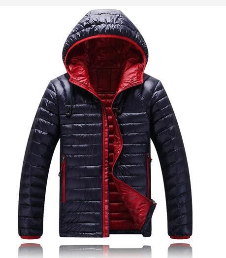 2019 Men Winter Jackets north Coats Warm Down Jacket Outdoor Hooded Men's face down Parkas 1501