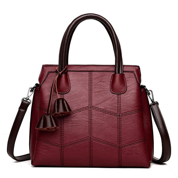 VANDERWAH High Quality Leather Shoulder Bag Bolsas Feminina Luxury Lady Handbags Casual Large Capacity Women Tote Bag Sac A Main #263883