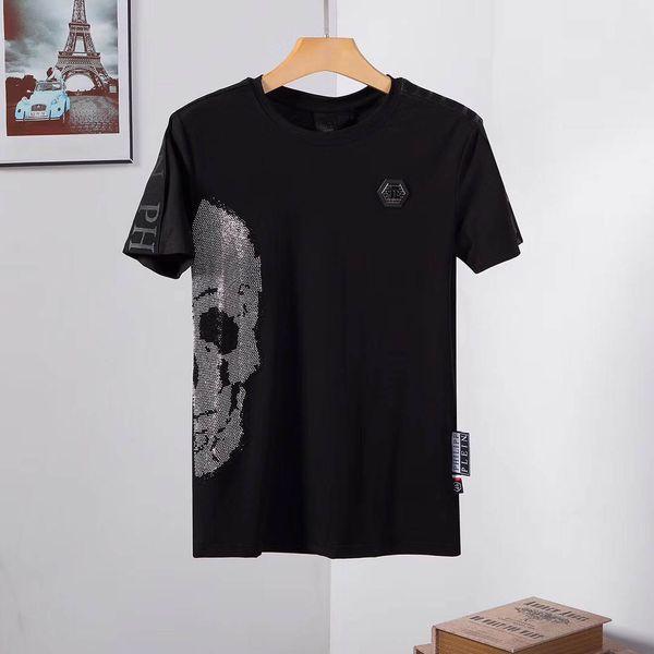 2019 Summer Designer T-Shirt Men's Tops Tiger Head Letter Embroidered T-Shirt Men's Brand Short Sleeve T-Shirt Top