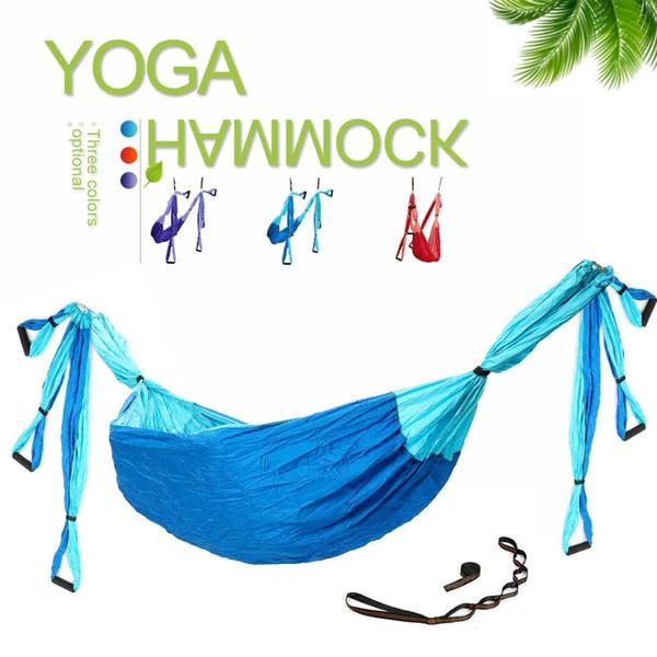 Yoga hamac anti gravité ultraléger parachute 210T tissu de nylon aérien équipement de remise en forme de yoga à la maison gym