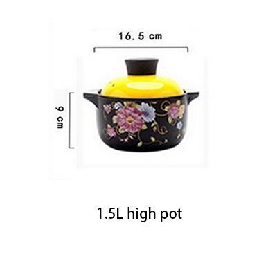 1.5L hohe Suppentopf
