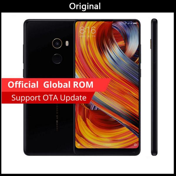 Versão global Original Xiaomi Mi MIX 6.4 Polegada Tela Cheia Snapdragon 821 6 GB RAM 256 GB ROM 2040x1080P Telefone VS xiaomi mi mix 2