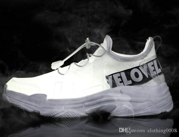 Женщины Повседневная обувь носки Стиль Zapatillas HOMBRE Летняя мужская обувь Повседневная кроссовки белый черный