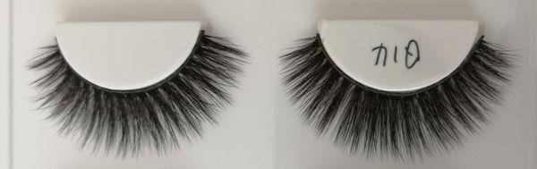 Q14 False eyelashes 3D chemical fiber 0.07 soft natural realistic custom brand custom packaging handmade wholesaler