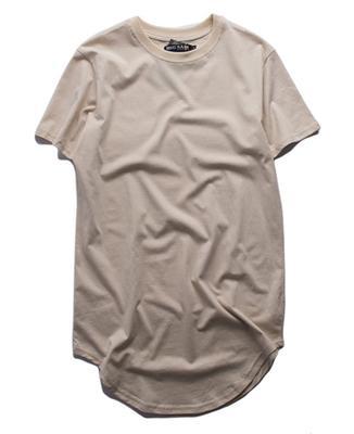 Free shipping fashion men extended t shirt longline hip hop tee shirts women justin bieber swag clothes harajuku rock tshirt homme wholesale