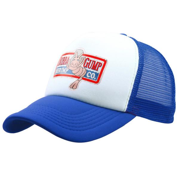 Toptan 1994 BUBBA GUMP Kap SHRIMP CO. Kamyon Beyzbol Şapkası Erkek Kadın Spor Yaz Açık Snapback Şapka Forrest Gump Şapka ayarlanabilir