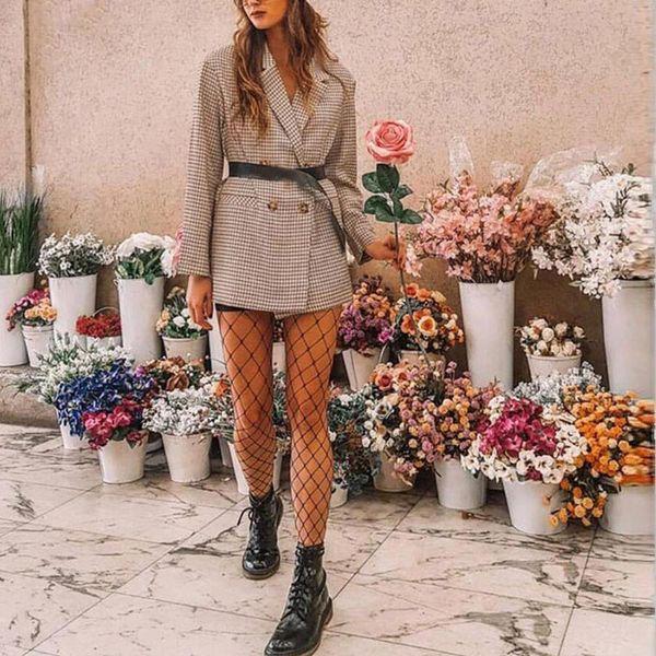 Womens Sexy Imprimir Moda Cardigan Coat Tops Windbreaker Trench Coat para las mujeres Delgado delgado Office Lady Cardigan Outwear TopsL23 #