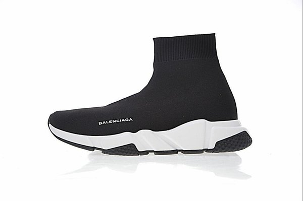 Cheap 2019 Good Quality Casual Shoes Fashion Brand Sock Boots Women New Slip-on Elastic Cloth Luxury Speed Trainer Men Designe Sports Shoes