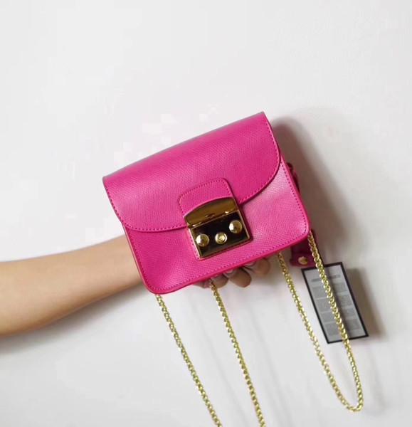 Designer-Marke Frauen Tasche Mini Metropolis Bag Damen Marke Echtes Leder Frauen Messenger Bags Handtaschen Frauen Berühmte kleine Umhängetaschen