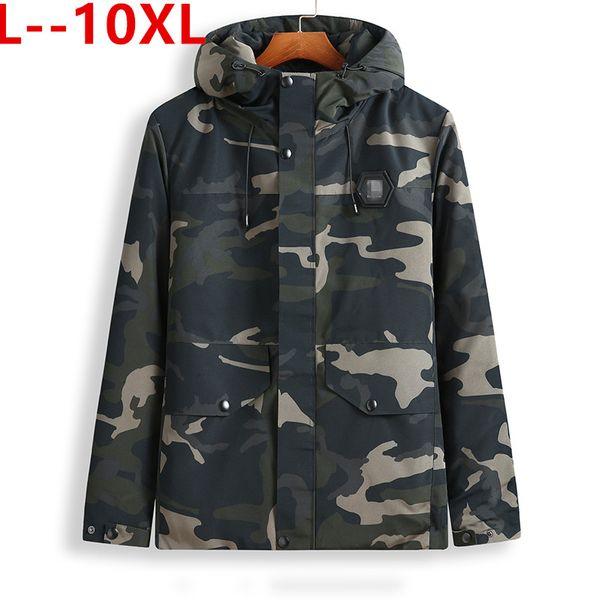 10xl 8xl 6xl 5xl winter jacket men 2019 camouflage army thick warm coat men's parka coat male fashion hooded parkas men thumbnail