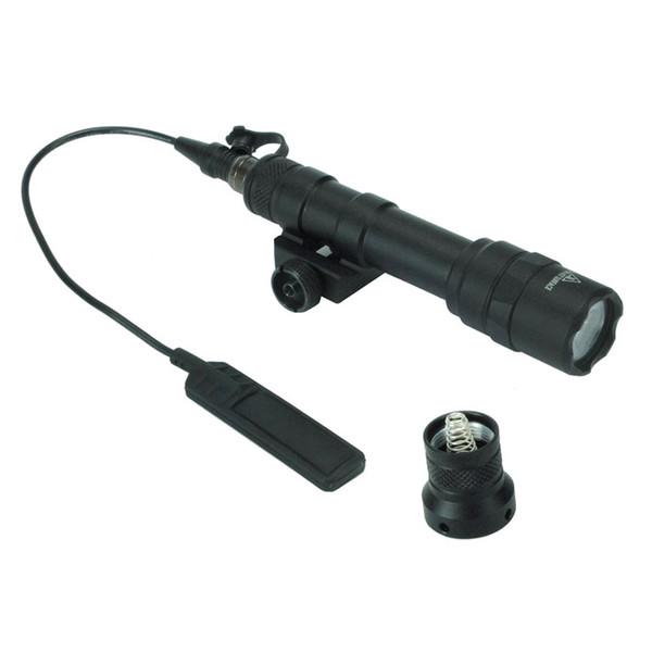 Lumière Blanche Rifle Lampe De Poche LED Torche Lampe De Chasse Aluminium