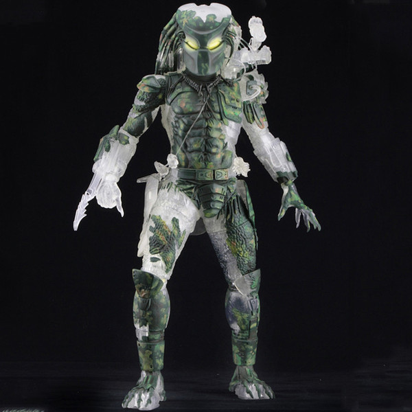 Aliens Vs Predator Jungle Hunter Neca Series 30th Anniversary Predator Pvc Action Figures Toys Anime Figure Toys For Kids Gifts