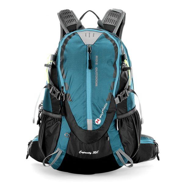 Maleroads 30L Outdoor Sports Hiking Backpack Camping Water Resistant Nylon Travel Luggage Bike Rucksack Bag