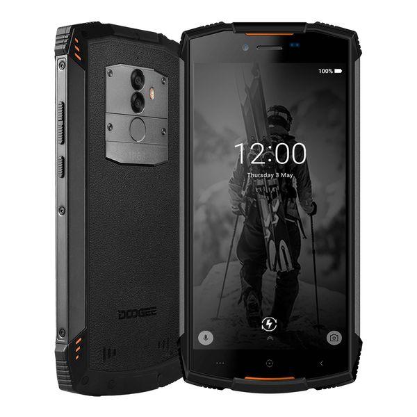 DOOGEE S55 Smartphones Android 8.0 Waterproof IP68 4GB RAM 64GB ROM Octa Core 5.5inch Dual SIM 4G LTE Cell phones