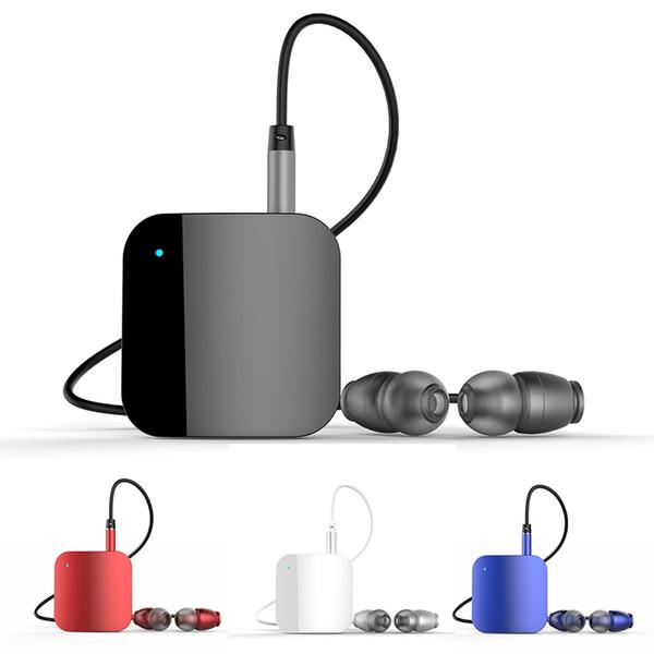 Kit mains libres Bluetooth pour écouteurs L8 Kit mains libres Musique Prise en charge du récepteur audio Casque Bluetooth