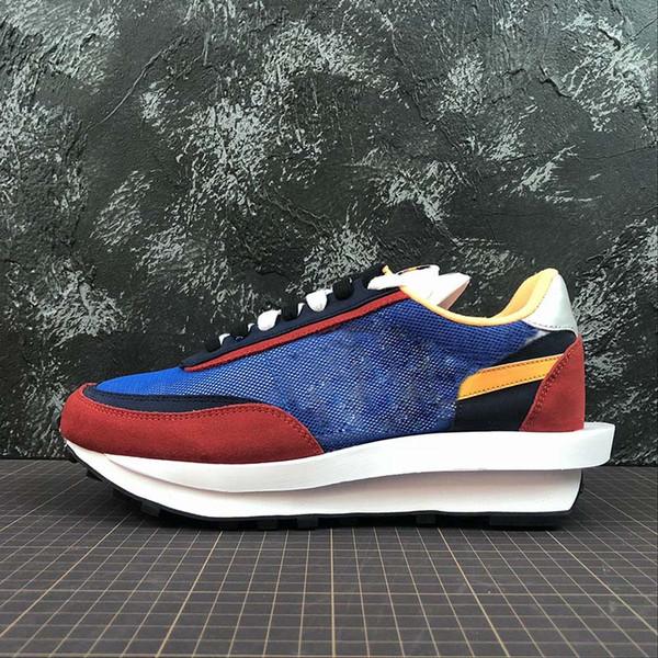 Новые UNDERCOVER nike x Sacai LDV Вафельно-сине-зеленая спортивная обувь Для мужчин, женщин, моды, кроссовки, черные, белые, кемпинги, походы, бег, бег, тренер