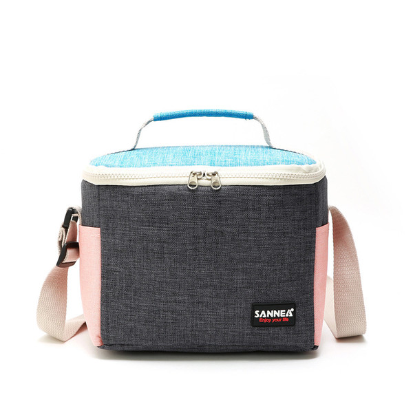 Mode Oxford Cloth Lunch Bag Isolierung Paket Aluminium Foil Insulated Tote Studenten Schule Thermal Lunch Box Picknick-Package