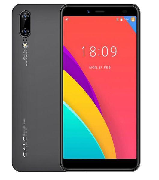 P2 Akıllı Telefon Dört Çekirdekli 5.5 '' MTK6739 2 GB 16 GB Rom Android Telefon 8MP Arka Kamera 5MP Ön Kamera Kaliteli 1440 * 720 Ekran Cep Telefonu