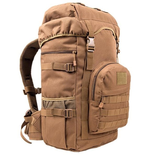 Outdoor Sports Bag Camping Travel Hiking Climbing Pack Multifunction Military Tactical Backpack With MOLLE Bag S219 #743763