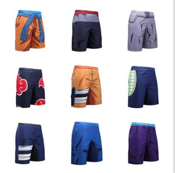 Mens 3D печати Dragon Ball Короткие штаны Мода Быстрый Сушильные Спортивная одежда Летняя Расслабление Проектировщик Бич Одежда