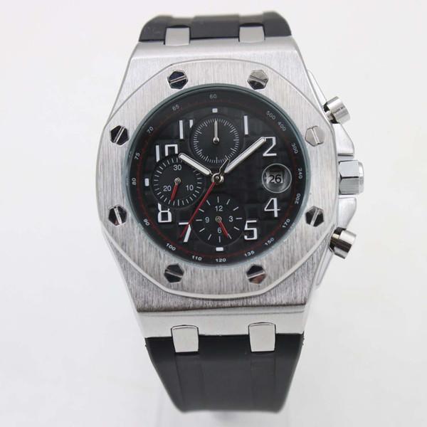 5 Color Audemar Pigue Designer Luxury Men Watch Automatic Movement Royal Oak 15400 Series Stainless Rubber Fashion Mens Watches