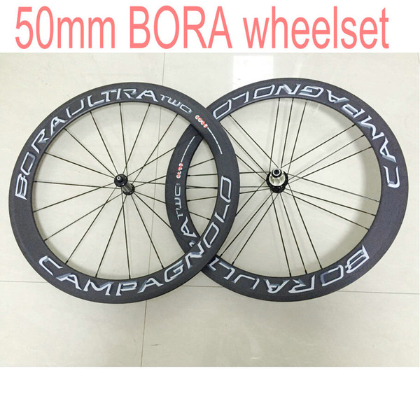 Campagnolo Bora Ultra Two poids léger, roues de course, roues de course, roues de 50mm, rayons + brochette