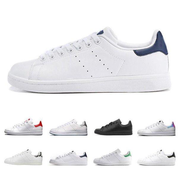 2019 NUEVAS mujeres de calidad hombres zapatos stan moda snith sneakers zapatos casuales de cuero deporte moda de lujo para hombre mujer diseñador sandalias zapatos
