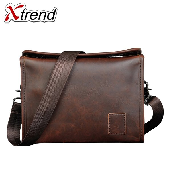 Xtrend Brand Crazy Horse PU Leather Laptop Bag 2017 Cover Handbag High Quality Mens Business Bag Male Office Briefcase for Men #200932