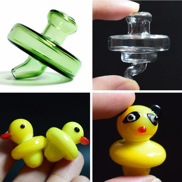 best selling 35mm OD Universal Colored Glass Bubble UFO Carb Cap Dome for 2mm 3mm 4mm 5mm Thick Quartz Banger Nail oil rig Glass Bongs
