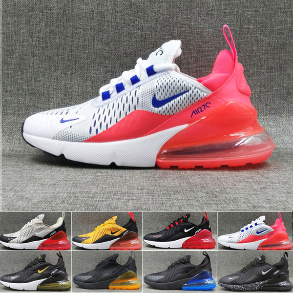 Compre Nike Air Max 270 270s 27c Airmax 2019 Cushion Sneaker Designer Zapatos Casuales 27c Trainer Off Road Star Iron Sprite Tomate Hombre General