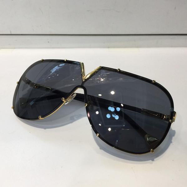 ac279f527 Louis Vuitton LV Z0926E Luxo Óculos De Sol Para As Mulheres Deisnger Grande  Rosto Redondo Uv400